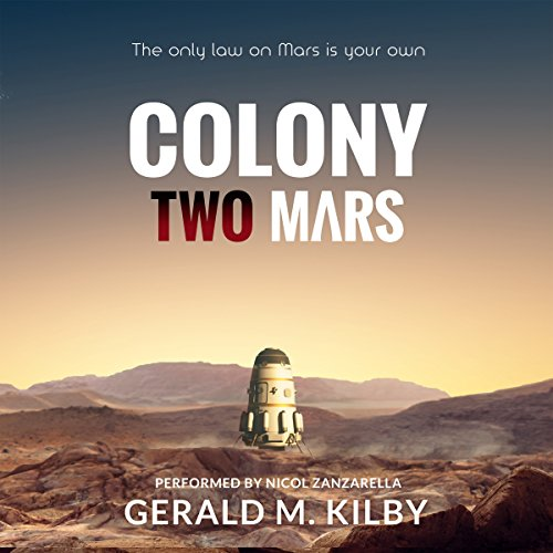 Colony Two Mars audiobook cover art