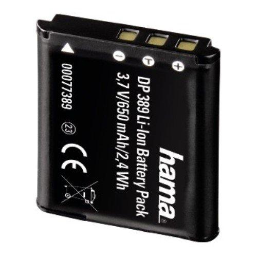 Hama 77389 -Batería Recargable para cámara Casio NP-110 (Ion-Litio 650 mAh, 3.7...