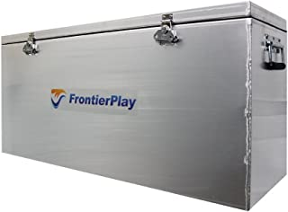FrontierPlay Aluminum Waterproof Utility Storage Dry Adventure Box Container with a Double Seal