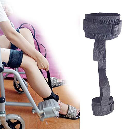 JMung Beinheber Schlaufen Beinstrecker Leg Lifter Strap Starrer Fußheber Handgriff - Ältere, Behinderte, Behinderung - Pädiatrie Mobilitätshilfen für Rollstuhl, Bett, Auto, Couch,1 pcs,L