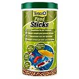 Tetra Pond Sticks – Alimentation Quotidienne idéale pour tous les Poissons de Bassin – Enrichi en Oligo-éléments, Vitamines essentiels, Caroténoïdes – Ne pollue pas l'eau - 1L
