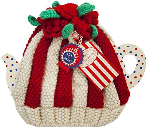Ulster Weavers - Copriteiera crochet, motivo: rose