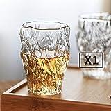 BQP - Copas de whisky para bebidas alcohólicas, champán, champán, bar, fiesta, boda, 1 unidad., 270ml