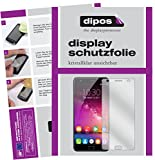 dipos I 2X Schutzfolie klar kompatibel mit Oukitel K6000 Plus Folie Bildschirmschutzfolie