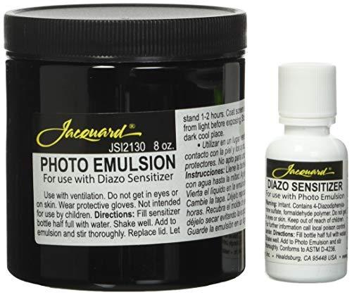 Jacquard Emulsion & Diazo 8 oz Sensitizer, Black