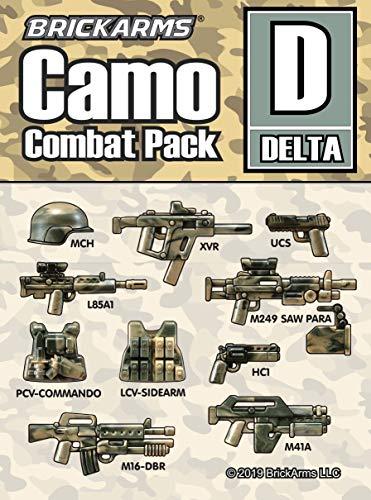 10 parti: MCH Helmet - XVR MP - UCS Pistol - L85A1 Assault Rifle - M249 SAW Para MG - PCV-Commando Vest - LCV Sidearm Vest - HCI Revolver - M16-DBR Assault Rifle - M41A Assault Rifle Ogni pezzo ha un modello unico grazie allo speciale processo di sta...