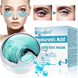 Under Eye Patches, Eye Treatment Mask, Collagen Eye Mask, Under Eye Mask with Anti-Aging Hyaluronic Acid for Reducing Dark Circles Puffiness Wrinkles, Under Eye Bags Treatment - 30 Pairs