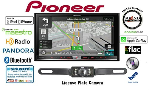 """Pioneer AVIC-7200NEX Double Din Navigation Multimedia DVD Receiver with 7"""" WVGA Touchscreen w/ Backup Camera and FREE SOTS Air Freshener"""