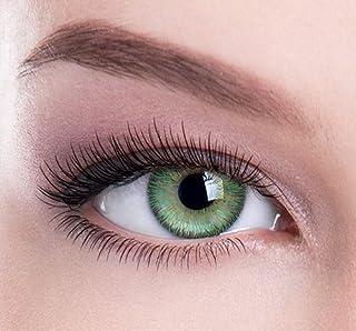 bbee335b2e Lentes de contacto de color verde atracción de color – Ideal para belleza,  glamour,