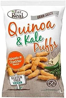 Eat Real Quinoa Kale Puffs Jalapeno Flavour 113g