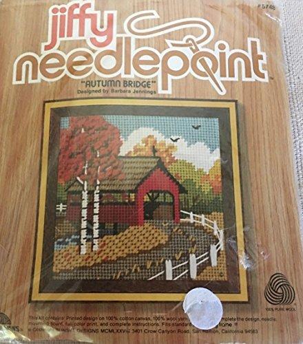 Sunset Jiffy Needlepoint Summer Mill Kit #5751