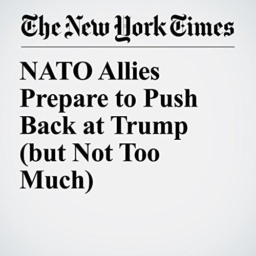 NATO Allies Prepare to Push Back at Trump (but Not Too Much) copertina