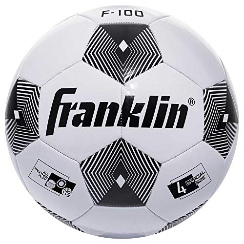 Franklin Sports Soccer Balls - Size 4 F-100 Soccer Balls - Youth Soccer Ball