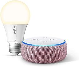 Echo Dot (3rd Gen) Plum Bundle with Sengled Wi-Fi Smart Bulb