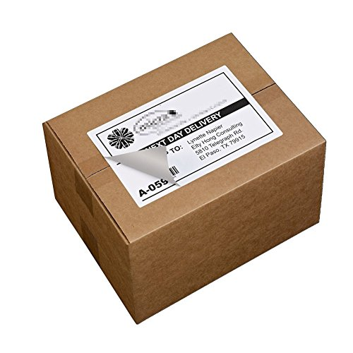 Shipping Labels with Rounded Corner, 8.5 x 5.5 Inches Half Sheet Self Adhesive Shipping Address Labels for Laser and Inkjet Printer, 200 Labels Photo #6