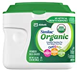 Similac Organic Non-GMO Infant Formula, Powder, Baby Formula, 23.2...