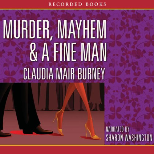 Murder, Mayhem & a Fine Man audiobook cover art