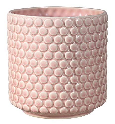 Bloomingville Macetero de loza, rosa