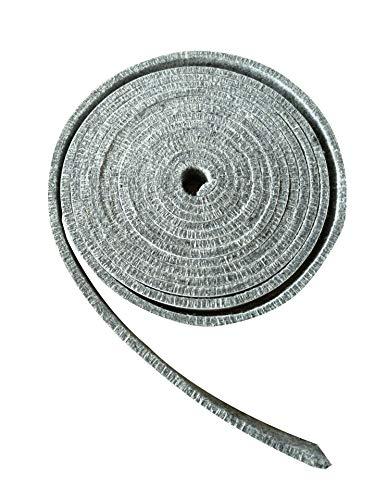 BroilPro Accessories High Temp BBQ Smoker Gasket Self Stick Felt 15ft Long, 3/4