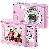 Best Compact Video Cameras - IEBRT Digital Camera,1080P Mini Vlogging Camera Video Camera Review