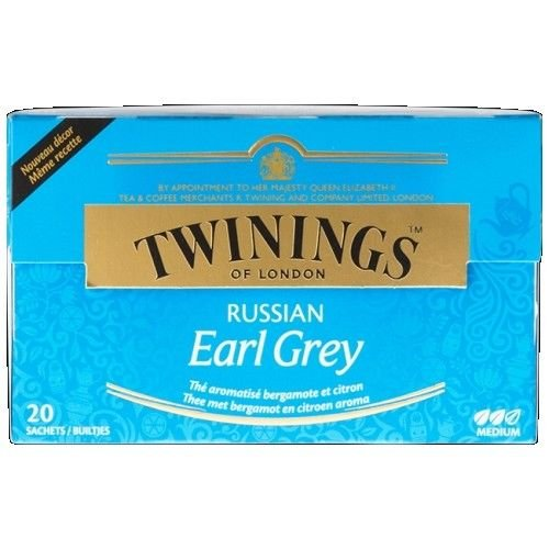 3 x Twinings Russian Earl Grey Black Tea (3 x 20 Stück)