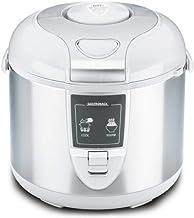 Gastroback 42507 Design rijstkoker, uitschakel- en warmhoudfunctie, 3 liter, anti-aanbaklaag, 450 Watt, antiaanbaklaag, grijs