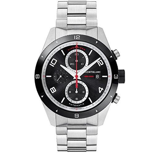Montblanc TimeWalker Herren-Armbanduhr 43mm Armband Edelstahl Automatik 116097