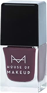 House of Makeup Gel Nail Polish - Wine, Long Lasting Shine and Quick Dry Nail Lacquer For Women - Saucy Blackcurrant Colour (12 ml)…