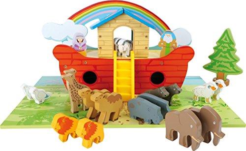 Small Foot 3120 Arche Noah - Juego de Mesa de Madera