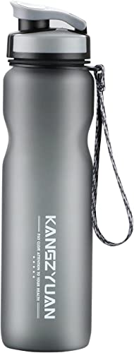 Water Bottles 1000ml with Flip-top Filter Hydration in Tritan Ensure Daily Drink Enough Water For Fitness and Outdoor...