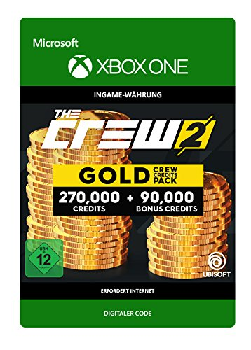 The Crew 2 Gold Crew Credits Pack DLC | Xbox One - Download Code