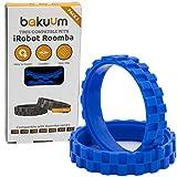 BAKUUM NEUMÁTICOS Ruedas para iRobot Roomba Series 500, 600, 700, 800 Y 900 (Pack 2 Unidades) Fabricado en España Antideslizante, Gran adherencia y fácil Montaje