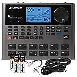 Alesis SR18 18 Bit Portable Drum Machine with Effects and Accessory Bundle w/Cables + Fibertique...