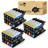 MIROO Compatible Ink Cartridge Replacement for Brother LC75 LC71 LC79 XXL15-Pack, Work for Brother MFC J280W J825DW J430W J835DW J625DW J425W J6710DW J280W J6910DW J5910DW J6510DW J435W Printer