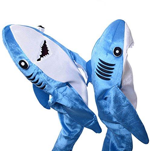 Deusa Disfraz de tiburón para adultos y niños de moda, disfraz de Halloween y Navidad