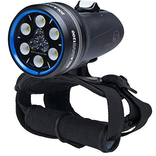 Light and Motion Sola Dive 1200 S/F Light, Black, 104x56x56