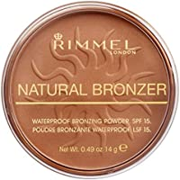 Rimmel London Natural Bronzer Terra Abbronzante Waterproof a Lunga Durata SPF 15