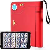 Porta Carte Pokémon, Raccoglitore Carte da Collezione, Pokémon Pokeball Design, Album di Carte Collezionabili Pokémon, Figurina Carte Album per YuGiOh/Magic MTG/Pokémon/GX EX Trainer/ACNH (9-Tasche)