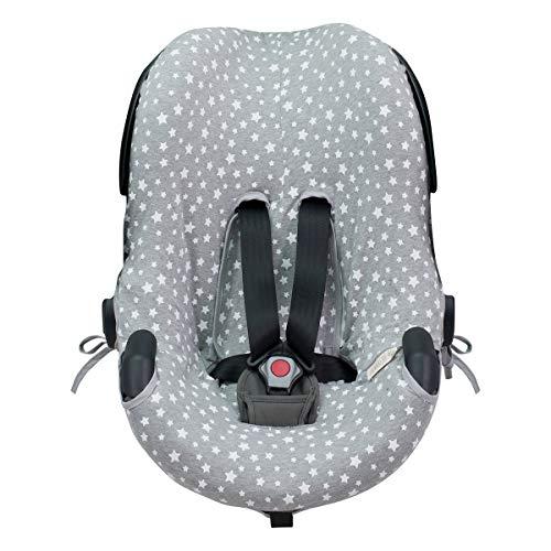 JANABEBE Funda para silla de auto BeSafe iZi Go (White Star)