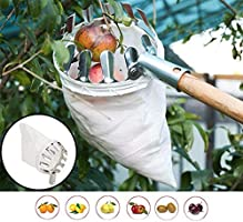 RONSHIN Portable Metal Fruit Picker Horticultural Fruit Picker Gardening Picking Tool Hardware Tool