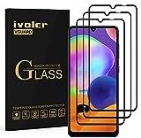 ivoler 3 Unidades Protector de Pantalla para Samsung Galaxy A32 4G / A31, [Cobertura Completa] Cristal Vidrio Templado Premium, [Dureza 9H] [Anti-Arañazos] [Sin Burbujas]