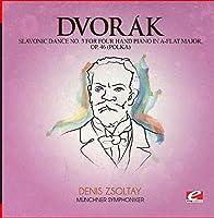 Slavonic Dance 3 Four Hand Piano A-Flat Maj 46