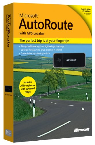 Microsoft Autoroute Europe GPS 2010 (PC DVD) [import anglais]