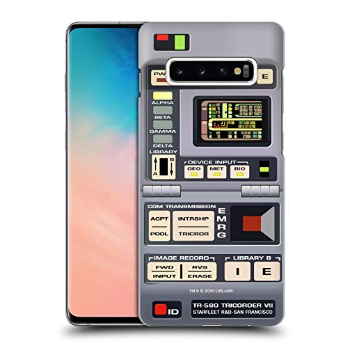 Head Case Designs Officially Licensed Star Trek Tricorder Gadgets TNG Hard Back Case Compatible with Samsung Galaxy S10+ / S10 Plus