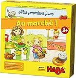 HABA-Mes Premiers Stand de marché en 3D conçu avec Amour | Matériel également adapté Libre et aux Jeux de rôle imaginatifs, 302782