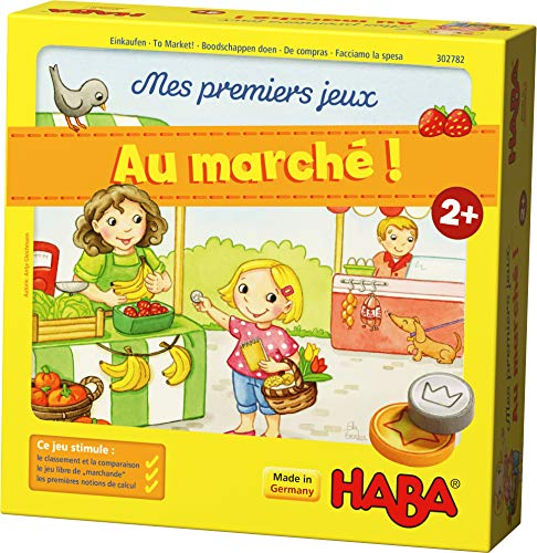 HABA-MES 302782 Erstklassiger Marktständer in 3D mit Liebe designt | Material auch geeignet für Freie und fantasievolle Rollenspiele