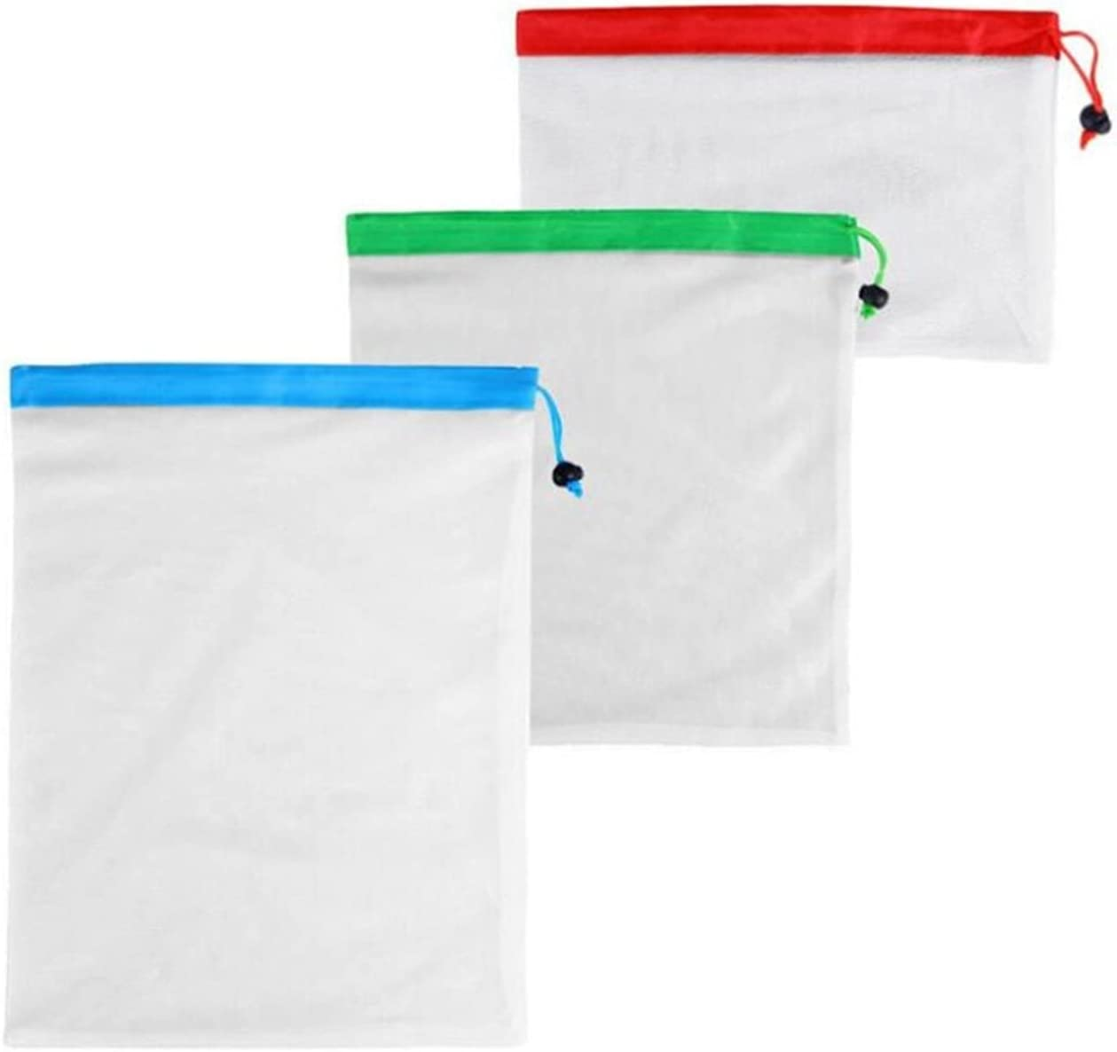YXXJJ Laundry Bag 3 Sizes Eco Mesh NEW Produce Washable Bargain Reusable