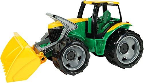 Lena 2057 Starke Riesen Frontlader, Giga Truck ca. 62 cm, Spielfahrzeug Traktor in grün/gelb