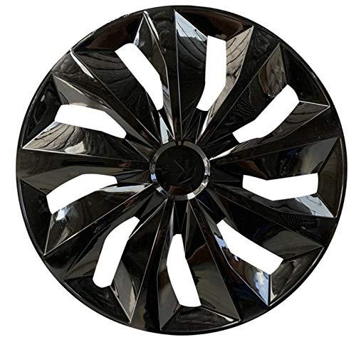 CHICAI Rueda de Ajuste Compatible con Cubiertas 13/14/15 Pulgadas Ruedas de Coches Modificación de Piezas (Negro) (Size : 13INCH)