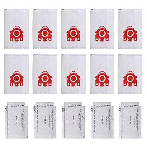 KEEPOW 10 Bolsas Recogepolvo FJM HyClean 3D Efficiency y 4 Filtros para...